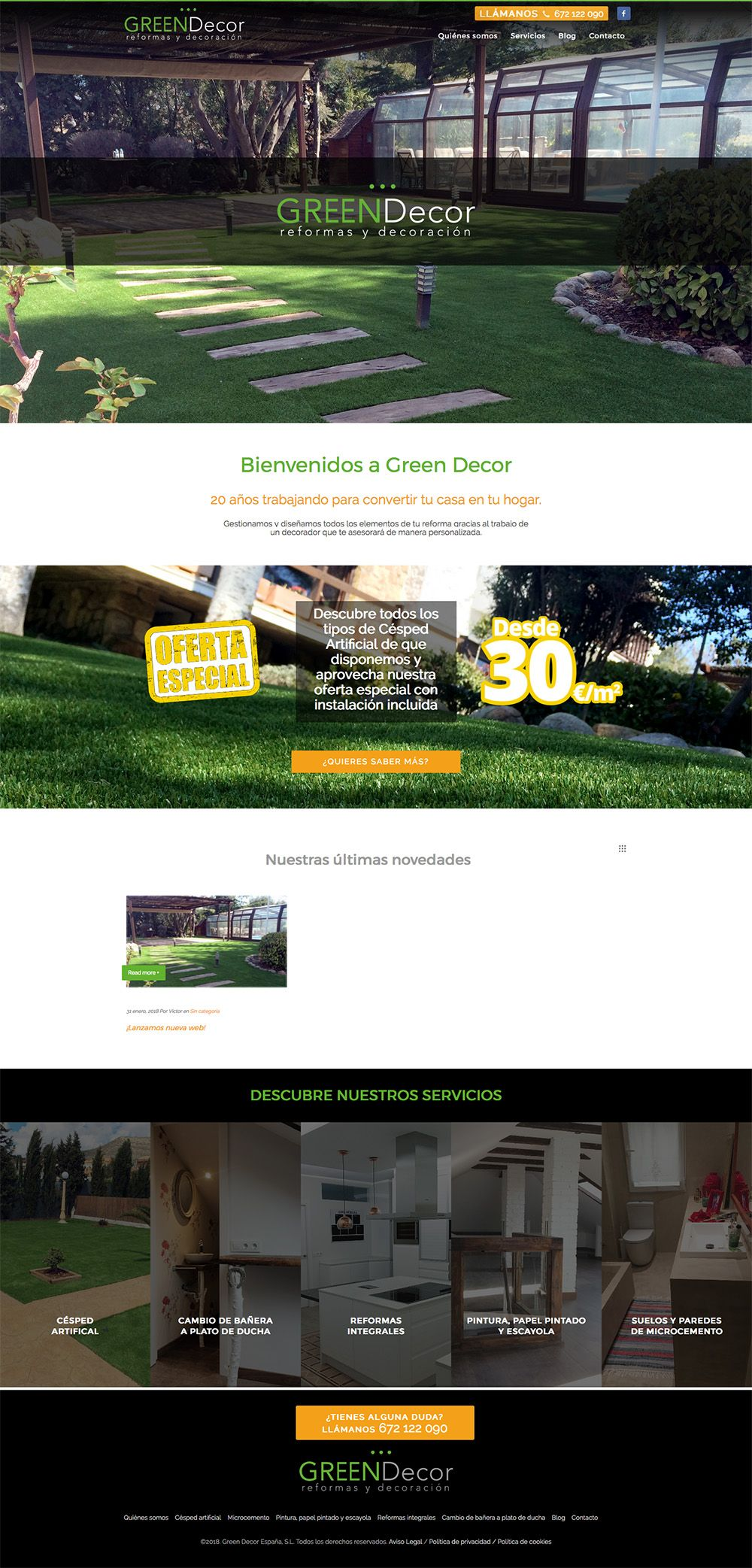 Reformas y Decoración Green Decor(1)