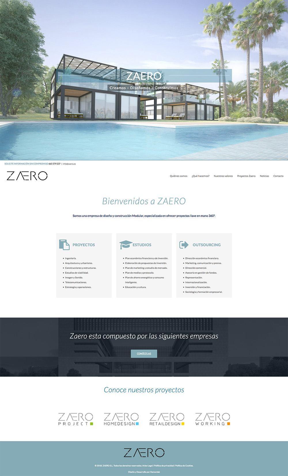 Diseño y construcción modular Zaero