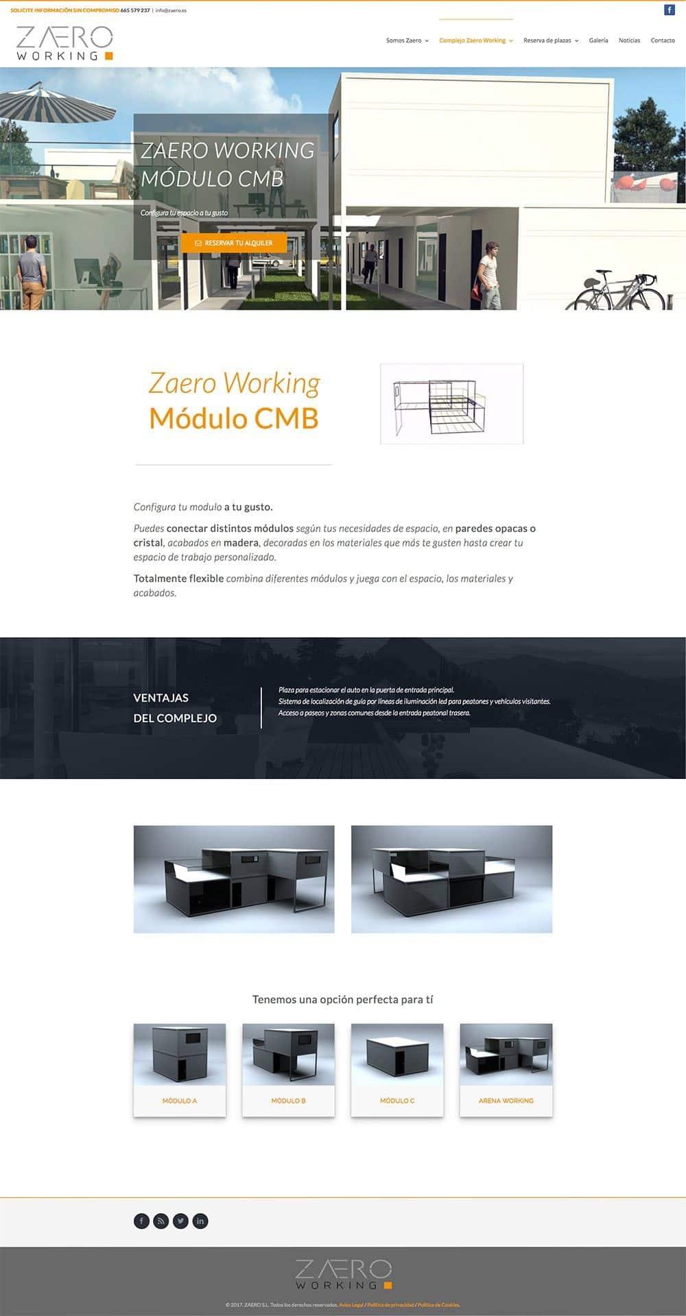 Zaero Working – Módulo CmB – Zaero – Working