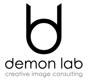 logotipo demon lab